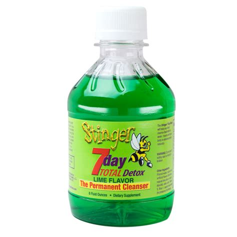 Urine Detox Ethanol by Stinger Drink Review
