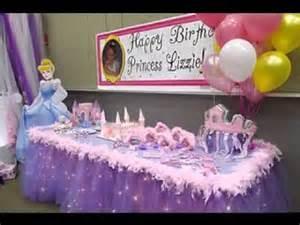 princess dekoration diy princess birthday decorating ideas