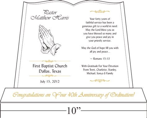 pastor anniversary invitation exles party invitations