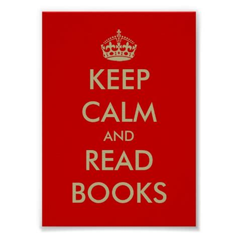 Keep Calm Poster keep calm and read books poster