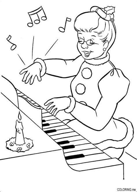 coloring pages for elderly coloring page piano coloring me