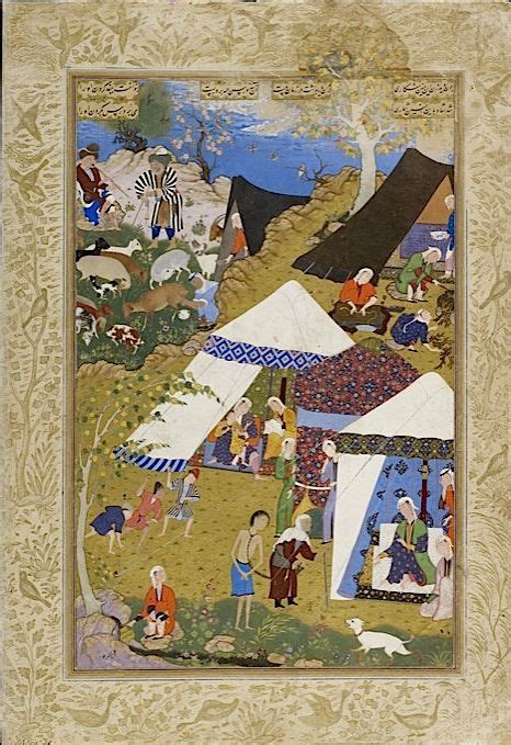 Lalya Majnun majnun is brought in chains to layla s tent from nizami s