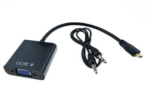 Micro Hdmi To Vga Audio c 225 p micro hdmi to vga c 243 audio m 225 y t 237 nh bảng windows