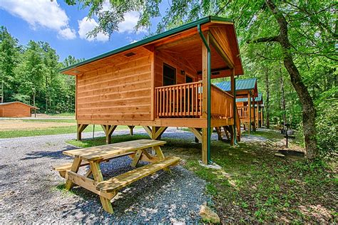 smoky mountain cabins at pigeon river cground