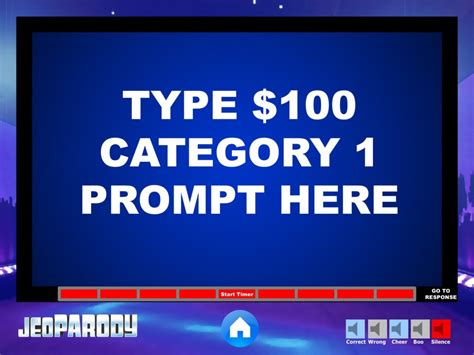 Jeopardy Powerpoint Game Template Youth Downloadsyouth Downloads Jeopardy Powerpoint Template With Sound