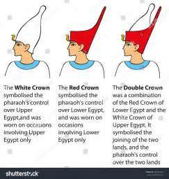 pharaoh crown template vector colored schematic illustration in the style of