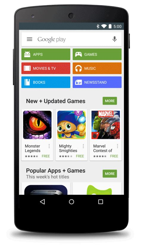 play for android android developers a new way to promote your app on play
