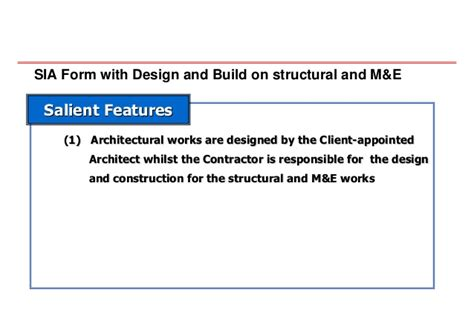 design and build contract requirements 20080704 innovative approach in contracts and tender