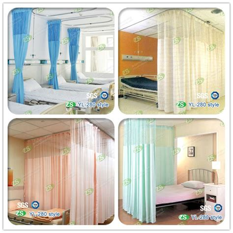 privacy curtains for medical office nursing home medical accessory factory supplier waterproof