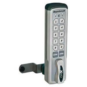 compx regulator reg m v electronic push button cabinet