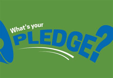 what s what s your pledge ivmday