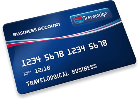 Account On Business Card travelodge business account card