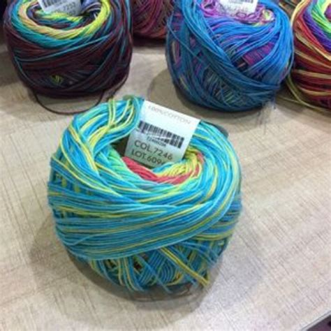 knitting with sewing thread 100 cotton lace 50g lot knitting crochet yarn to knit