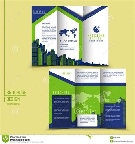 three fold brochure template free three fold brochure template free
