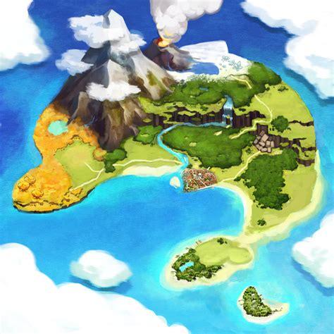 design game map atelier annie alchemists of sera island art pictures