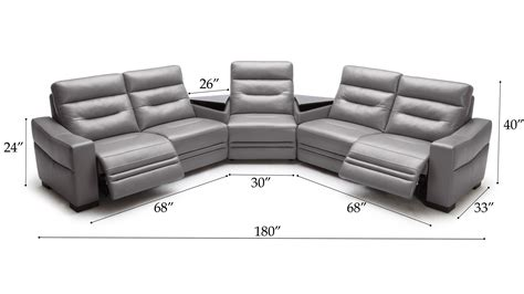 beverly light beverly light grey leather media center sofa with tables