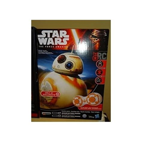 Remote Bb 8 Droid Wars bb 8 remote droid wars awakens controlled rc bb8 in rc