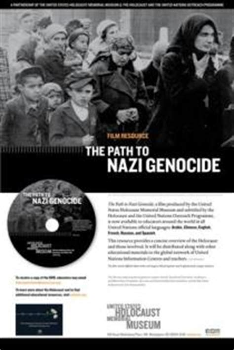 the path to genocide the holocaust and the united nations outreach programme