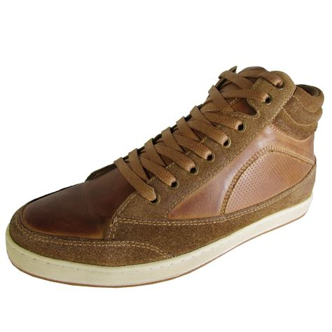 Steve Madden Mens Shoes by Steve Madden Mens Peyson High Top Sneaker Shoes