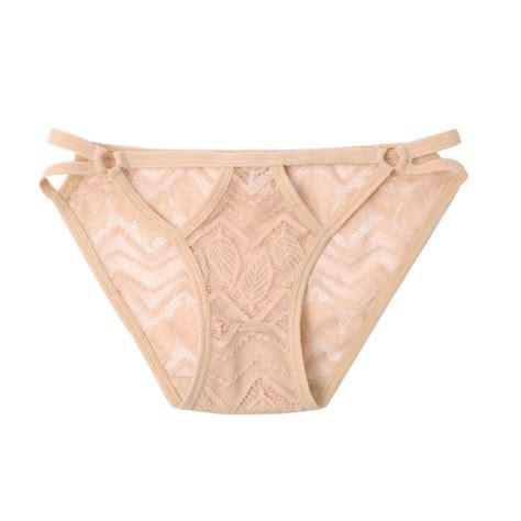 Celana Dalam Balita wanita renda pakaian celana celana dalam wanita pendek tipis berongga lubang bernapas