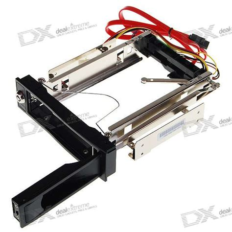 Rack Harddisk lockable 3 5 quot sata disk drive rack mount drawer free shipping dealextreme