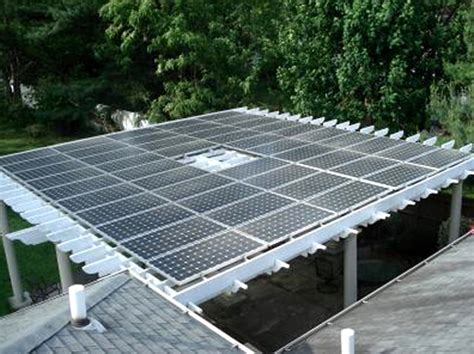solar panel pergola high technology pergola designs iroonie