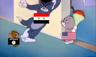 Tom And Jerry Meme - syrian problem explained by tom and jerry cartoon india com