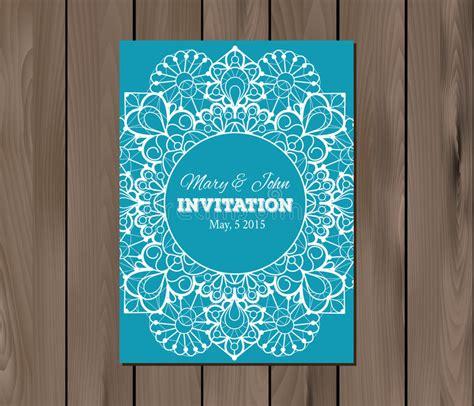 Wedding Invitation Card Eps by Wedding Invitation Design Eps Gallery Invitation Sle