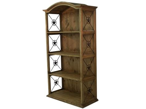 rustic bookshelves furniture rustic wood bookcase with iron mexican rustic furniture and home decor accessories
