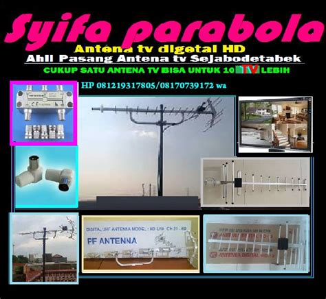 Jasa Pasang Antena Hd Tangerang pasang antena tv dital di tangerang kota roketpro