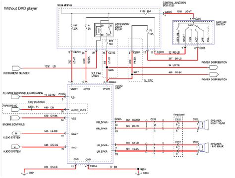 2002 ford focus radio wiring diagram 2001 ford focus radio