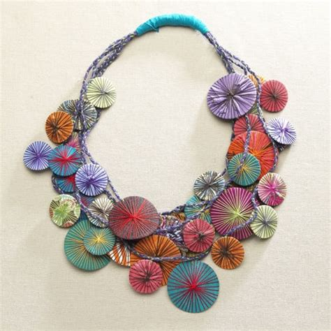material to make jewelry 17 best images about in fabric on painted