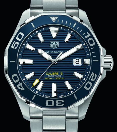 Updated TAG Heuer Aquaracer 300M & Full Ceramic Aquaracer Lady 300M Watches   aBlogtoWatch