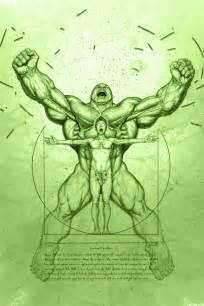 geek art anatomy of the hulk geektyrant