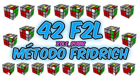 tutorial rubik avanzado m 233 todo fridrich f2l completo resolver cubo de rubik