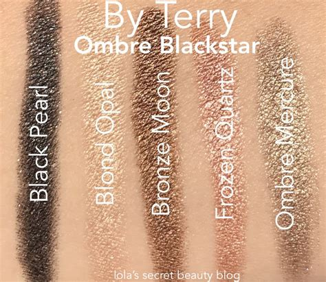 by terry impearlios ombre blackstar gift collection at niche beauty lola s secret beauty blog by terry impearlious ombre