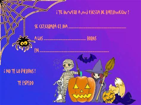 imagenes de halloween invitaciones invitaciones para fiesta de halloween para imprimir
