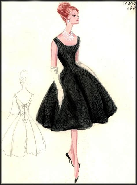 best 25 vintage fashion sketches ideas on