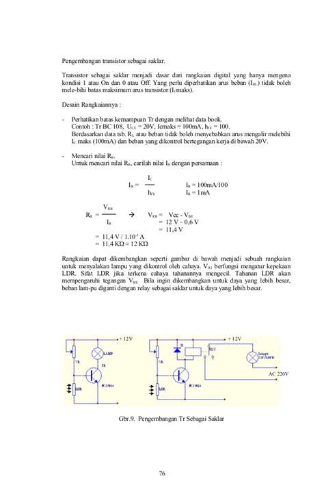 materi transistor sebagai saklar pdf kesimpulan transistor sebagai saklar 28 images analisis kedalaman keluasan pengetahuan