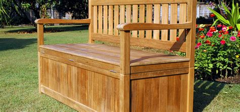 outdoor storage bench ideas on home depot