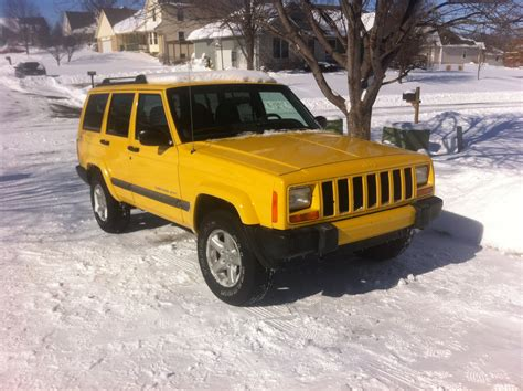 jeep cherokee yellow solar yellow jeep cherokee forum