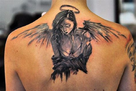 tattoo pictures angel wings 75 remarkable angel tattoos for men ink ideas with wings