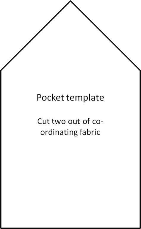 pocket template thoughts s apron tutorial