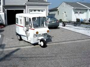 Wheels Postal Truck 1963 Westcoaster Mailster Vintage 3 Wheel Mail Truck