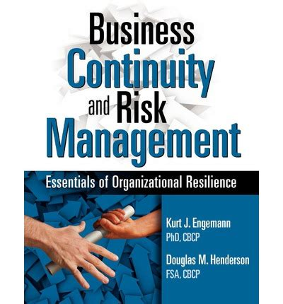 business essentials for utility engineers books business continuity and risk management douglas m
