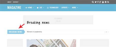 membuat newsticker wordpress magazine a true drag drop builder for magazine layouts
