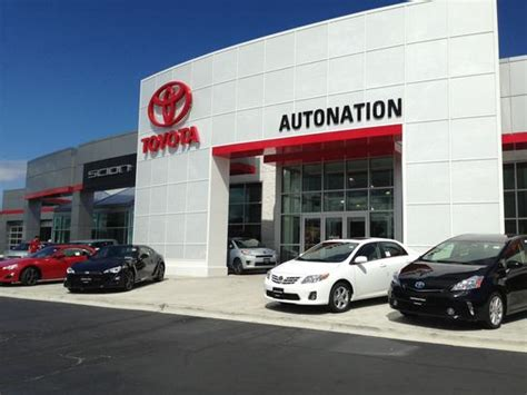 Autonation Toyota Service Autonation Toyota Libertyville Car Dealership In