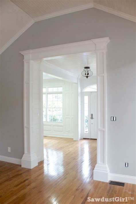 diy columns diy how to build decorative columns for a doorway using