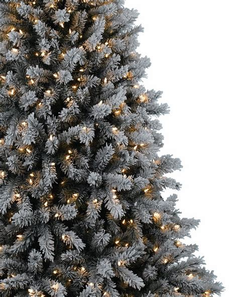 Real Flocked Trees On Sale - flocked tree a wintry look of your