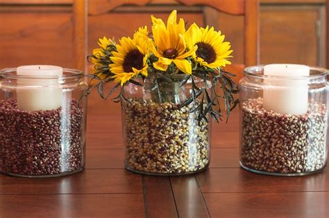 decorating with jars for fall easy fall decorating with apothecary jars garden matter